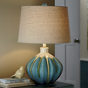 Arial Crackle glaze Lamp