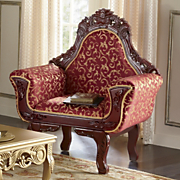 red florencia chair