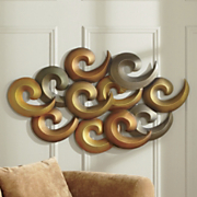 Golden Breeze Wall Art