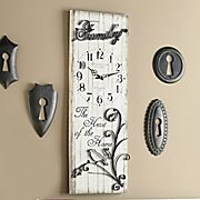 heart of the home wall clock