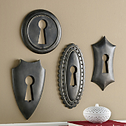 4 piece bronte keyhole plaque set