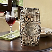 Wine Corks Barrel