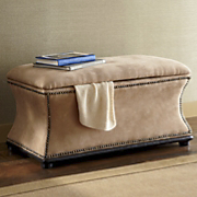 grace nailhead bench
