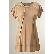 celeste shoulder lace top