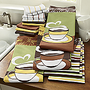 16 piece Coffee Towel Set