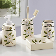 4 piece Magnolia Bath Set