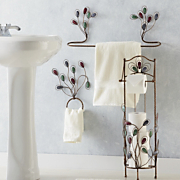 3 piece Gem Bathroom Accessory Set