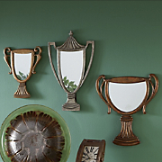 3 piece trophy mirror set