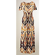 ikat sublimation dress