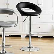 curved back stool