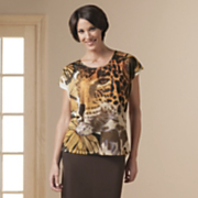 Monarch Leopard Tee s