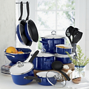 21 piece Porcelain Enamel Cookware Set By Tivoli