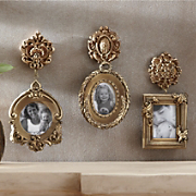 set of 3 photo treasures ornamental frames