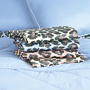 300 thread count animal print sheet set
