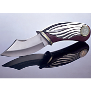Seated Liberty Silver Dime Knife