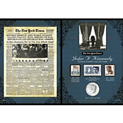 Ny Times Jfk Coin and Stamp Collection