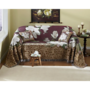 Magnolias In Bloom Furniture Throws