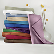 400 thread ct egyptian cotton damask stripe sheet set