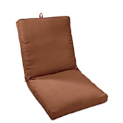 boxed corded patio chair cushion