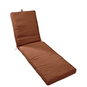 boxed corded chaise cushion