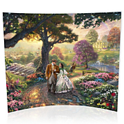 Thomas Kinkade Gone With The Wind Starfire Prints Glass Print