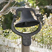 cast iron school bell