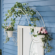 over the door heart trellis
