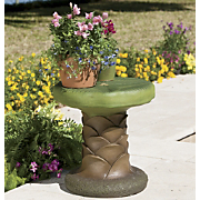 palm tree planter stand