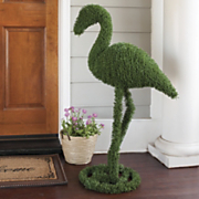flamingo topiary