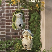 hanging animal birdhouse