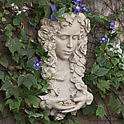 goddess birdfeeder and planter