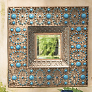 arabesque wall mirror