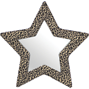 Leopard Star Mirror