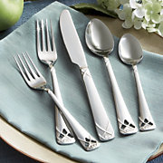 20 piece miramonte flatware set