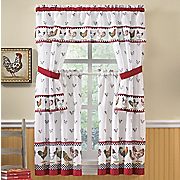Rooster Parade Window Treatments