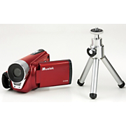 digital video camera with heavy duty tripod by mustek