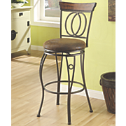 Double Circle Swivel Bar Stool