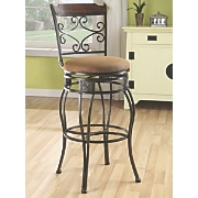 Elegant Swivel Bar Stool