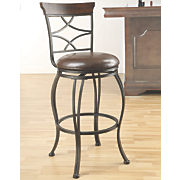 Casual Swivel Bar Stool