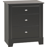 Kallisto 3 Drawer Tall Nightstand