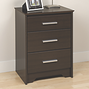Coal Harbor Tall 3 Drawer Nightstand
