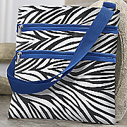 Zebra Stripe Side Bag