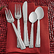 20 piece supreme frost flatware