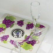 grape sink mat strainer set