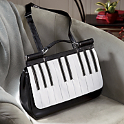 ebony ivory flap purse