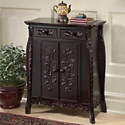 juliette carved double door cabinet