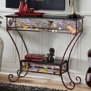 swing time console table
