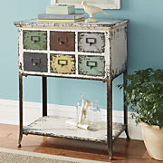 fayette multi drawer table