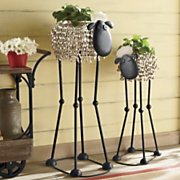 long legged lamb planters