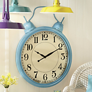 large retro clock